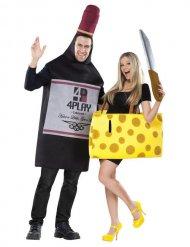 Ost och vin - Halloweendräkt för par