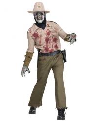 Zombiesheriff herrdräkt