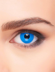 Mörkblå kontaktlinser vuxen 3 månader
