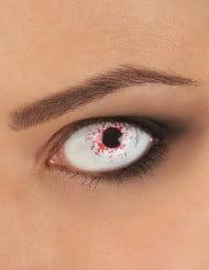 Blodsprängda linser för vuxna - Halloweensminkning