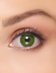 Elektriskt gröna kontaktlinser vuxen