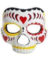 Dia de los Muertos - Ögonmask till Halloween för vuxna