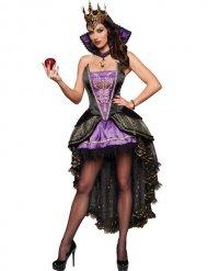 Ondskefylld drottning - Halloweenkläder för vuxna