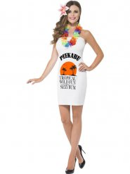 Peekabu karibisk klänning