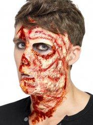 Brännskadat ansikte - Fejkssår till Halloween