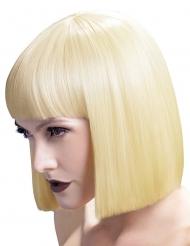Platina blond Bob - Peruk för vuxna till maskeraden