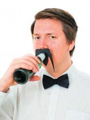 Flaskmustasch - Partytillbehör 10,5 x 8 cm