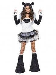 Flörtig Panda - Maskeradkläder för vuxna