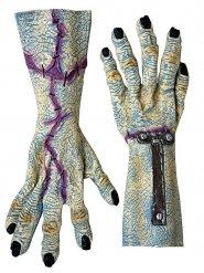 Zombie handskar för vuxna - Halloweendekoration