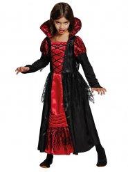 Röd vampyr - Halloweendräkt för barn