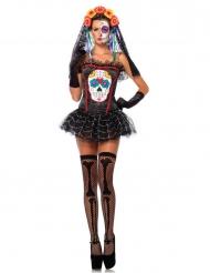 Sugar skull bustier - Tillbehör till Halloween