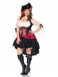 Piratdrottning - Maskeraddräkt för vuxna