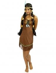 Tjusig indian - Maskeraddräkt för vuxna