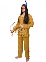 Brummande björnen - Indiankläder för vuxna