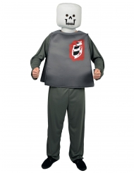 Leksaksfigur som Zombie - Halloweendräkt för vuxna