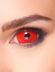 Storas röda linser- Halloweensminkning