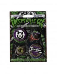 4 gotiska Kreepsville-märken