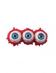 Hårklämma med tre ögon