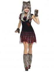 Tjusig varulv - Halloweenkostym för vuxna
