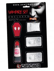 Vampyrkit med linser - Halloween tillbehör för vuxna