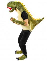 Grön dinosauriedräkt vuxen