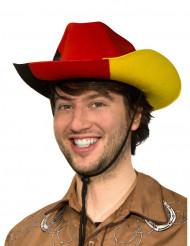 Cowboyhatt i Tysklands färger