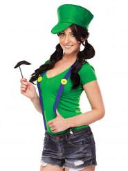 Grönt rörmokarkit från TV-spel - Maskeradkläder för vuxna