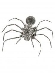 Grå spindel 110 cm - Halloweendekoration