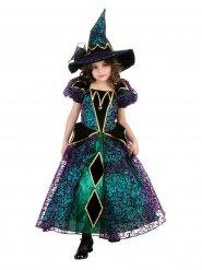 Pampig häxdräkt till Halloween för barn