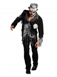 Kontorszombie - Halloweenkostym för vuxna