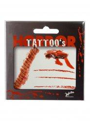 Sår och ärr - Tatueringar till Halloweensminkningen