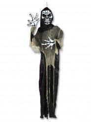 Fejk Döden med blinkande ögon 2,2m - Halloween pynt