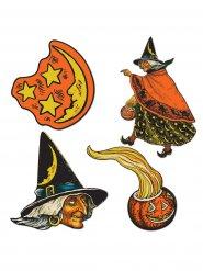 Häxdekor till Halloweenpartyt