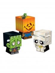3 Halloweenlådor - Bus eller godis
