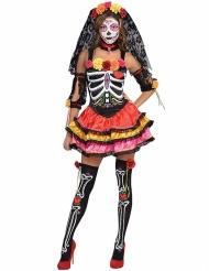 Celebramos - Vacker klänning för vuxna till De dödas dag