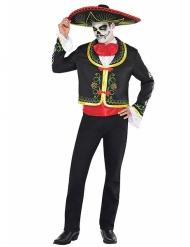 Mexikanskinpirerad Halloweenkostym för vuxna
