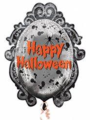 Speglande Happy Halloween ballong - Halloween pynt