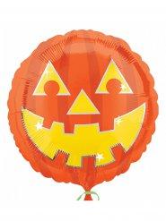 Pumpaballong 43*43 cm - Halloween pynt
