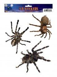 3 Spindelklistermärken