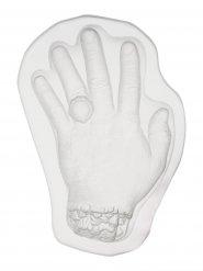 Kakform avhuggen hand