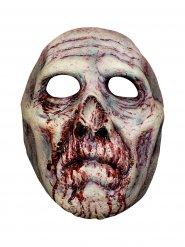 Blodig zombie mask för vuxna - Halloween Masker