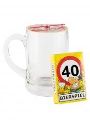 Tyskt ölspel för 40-åringen med stop i plast 500ml