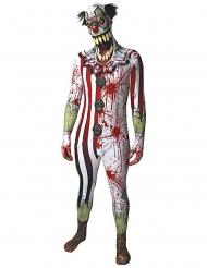 Blodig skräckclown från Morphsuits™ - Halloweenkostym för vuxna