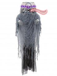 Skelett som rör sig och har ljud och ljus - Halloweendekor 100 cm