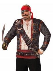 Tröja med piratmotiv herr