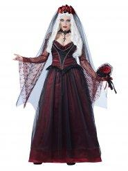 Gotisk vampyrbrud - Halloweenkostym för vuxna