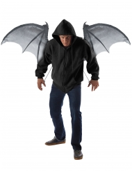 Fladdermusen stora vingar 122 cm - Halloweentillbehör