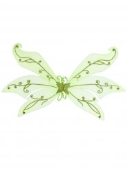 Gröna älv-vingar 106x72 cm