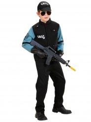 S.W.A.T Cop - Maskeraddräkt för barn