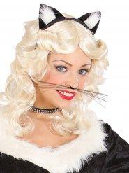 Kattens morrhår - Maskeradaccessoarer för vuxna
